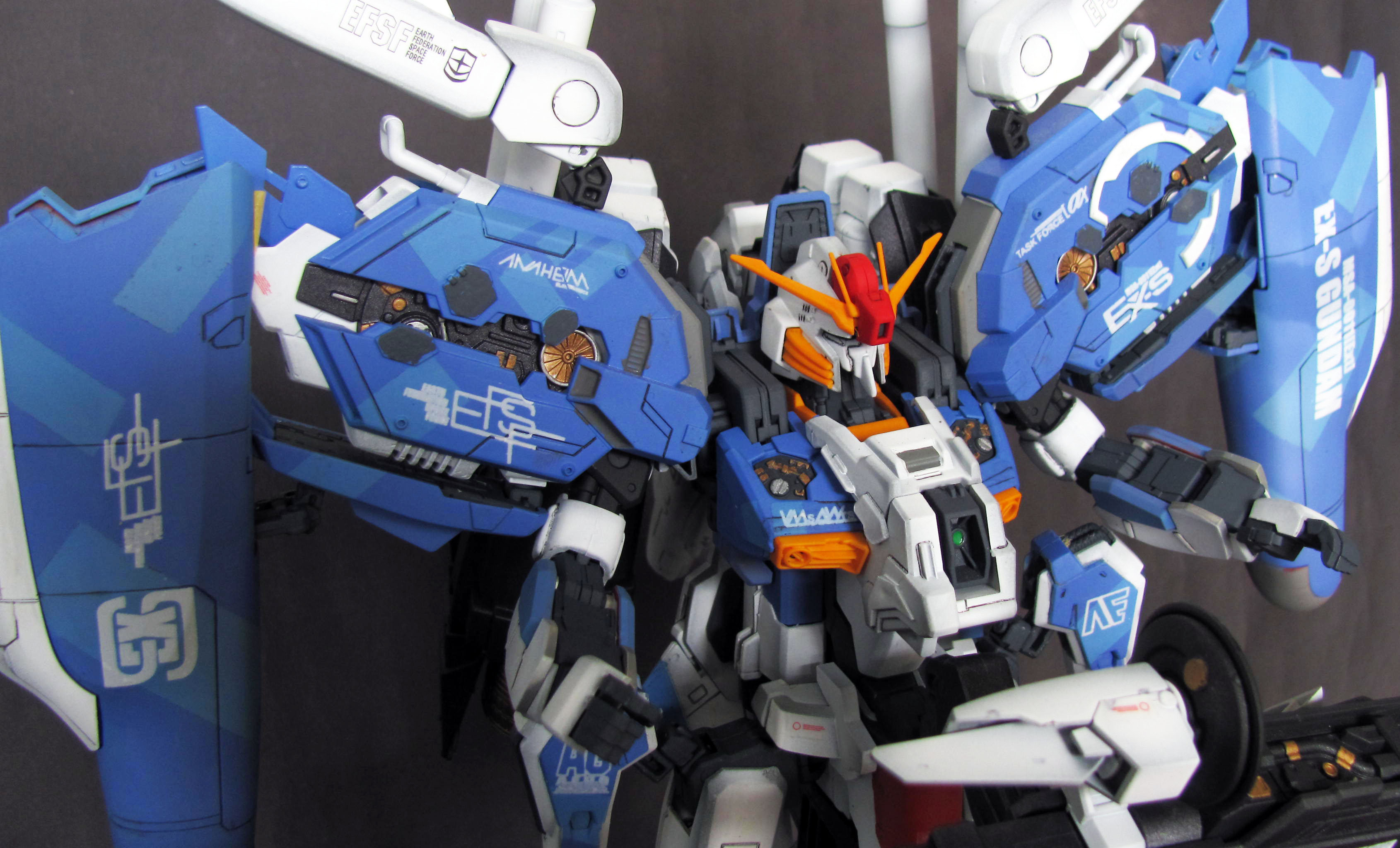 Mg 1 100 Ex S Gundam Improved Modeled By Oni Wicaksono Photoreview Wallpaper Size Images Info Gunjap