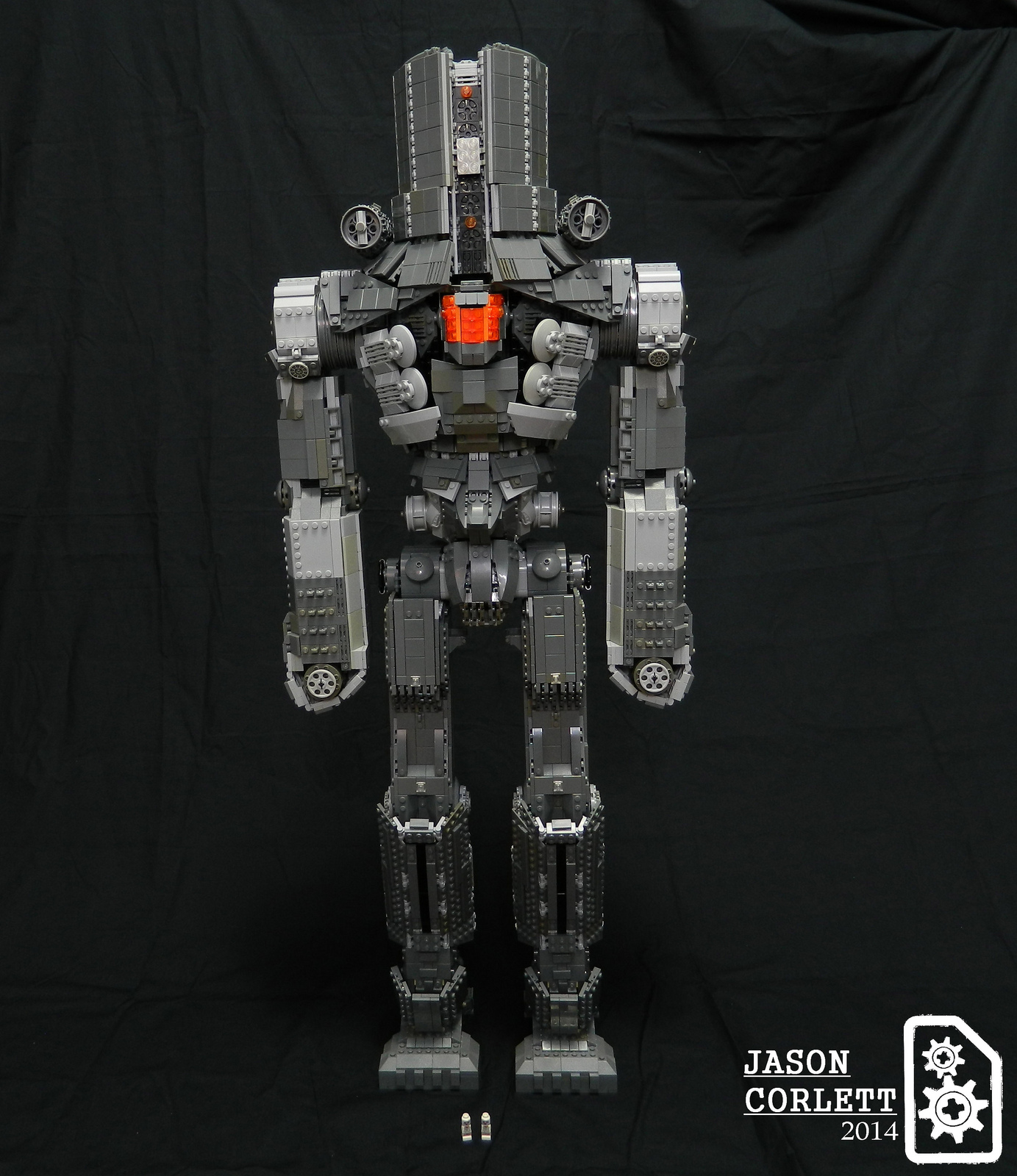 Pacific Rim LEGO Almost 3 Feet Tall Cherno Alpha Jaeger Full