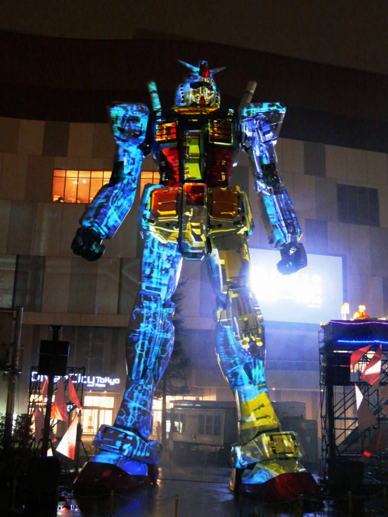 """TOKYO Gundam Project 2014 Gundam Projection Mapping """"Industrial revolution"""" -to the future- : FULL Photoreport of the Event. No.27 Wallpaper Size Images!"""