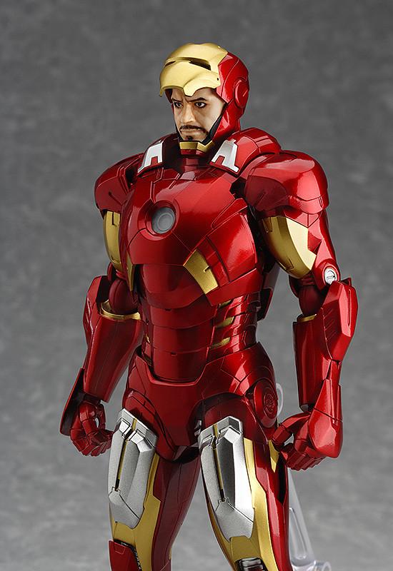 Avengers Limited Figma Ex 018 Iron Man Mark Vii Full