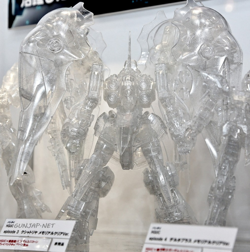 "Gunpla HGUC x Mobile Suit Gundam UC: ""HGUC Memorial Clear Ver."" No.6 Clear Gunpla Special Edition. Photoreport @ Anime Japan 2014. No.6 Wallpaper Size Images"