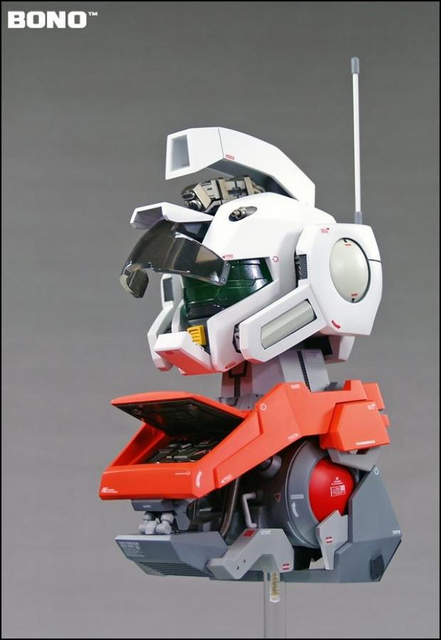 1/35 Full Scratch Build Model: RGM-79 Powered GM Head ...