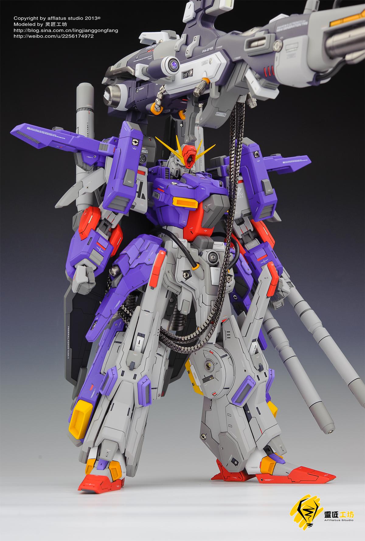 GUNJAPG-System 1/72 FA-ZZ Gundam FA-010 Full Armor: Modeled by Afflatus Studio. Full Photoreview No.22 Wallpaper Size Images, Info