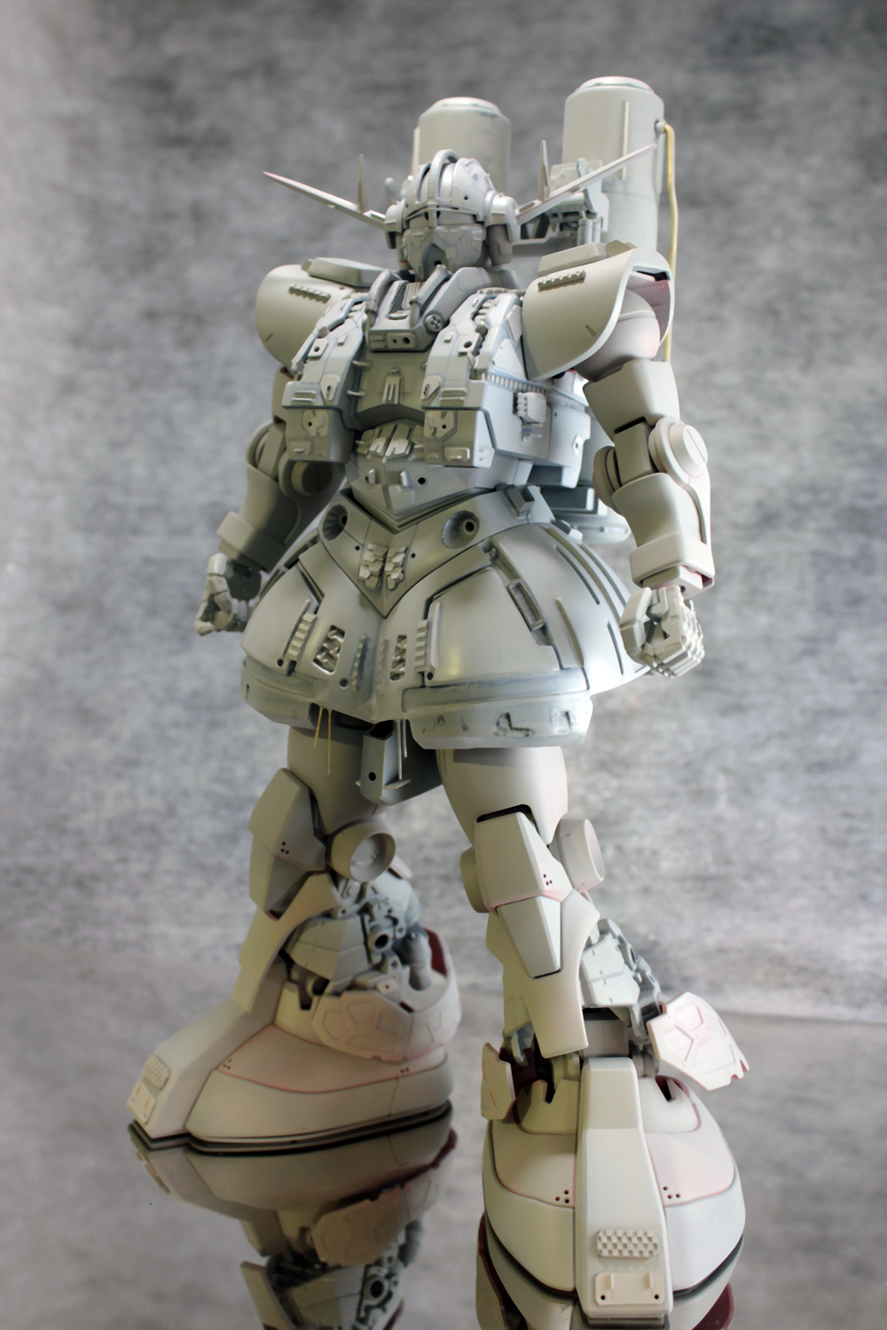 HGUC 1/144 MSN-02 Zeong: Latest Amazing Remodeling Work by ...