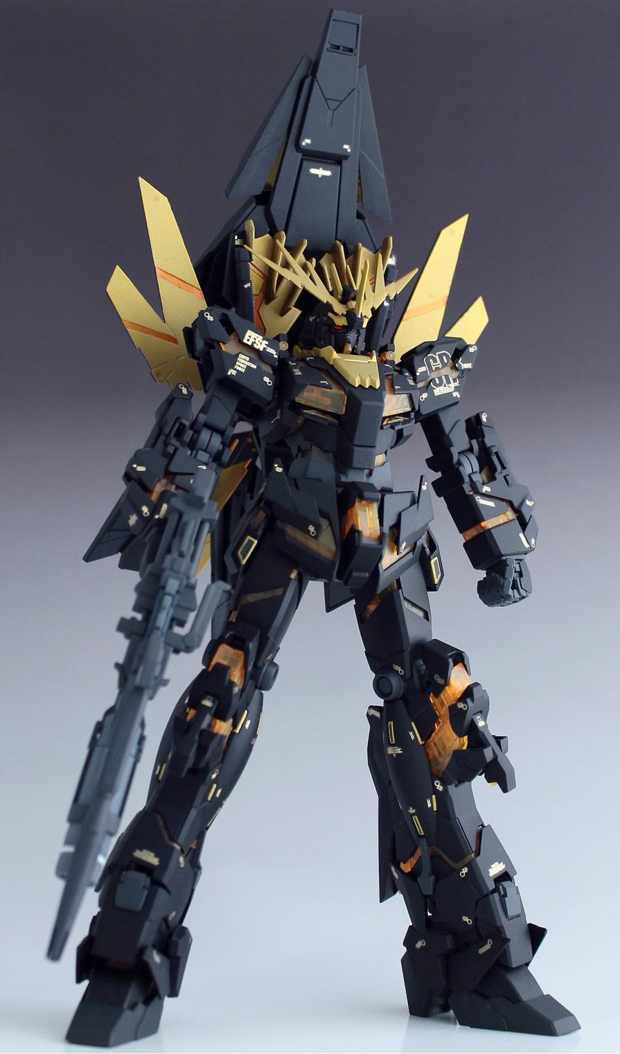 Mg 1 100 Rx 0 N Unicorn Gundam 02 Banshee Norn Remodeling Semi