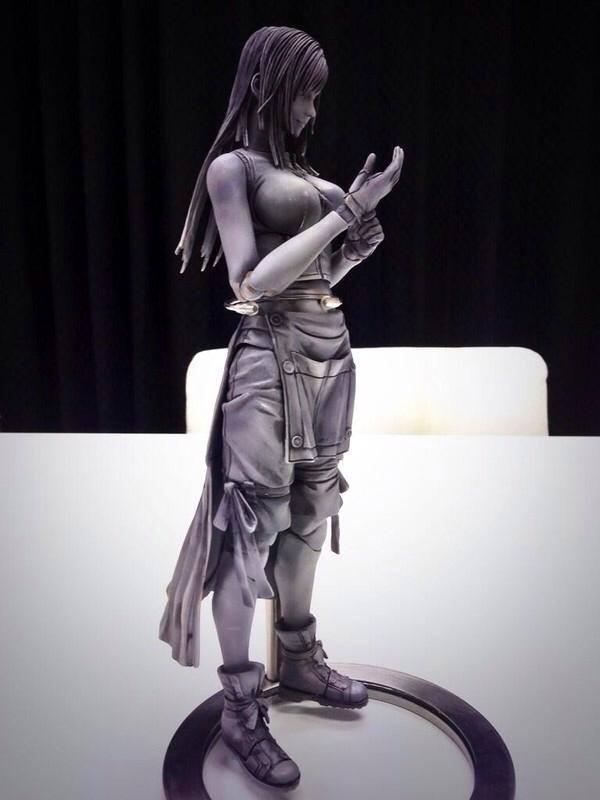 PREVIEW: Final fantasy Variant Play Arts Kai Tifa Lockhart. Big Size Images
