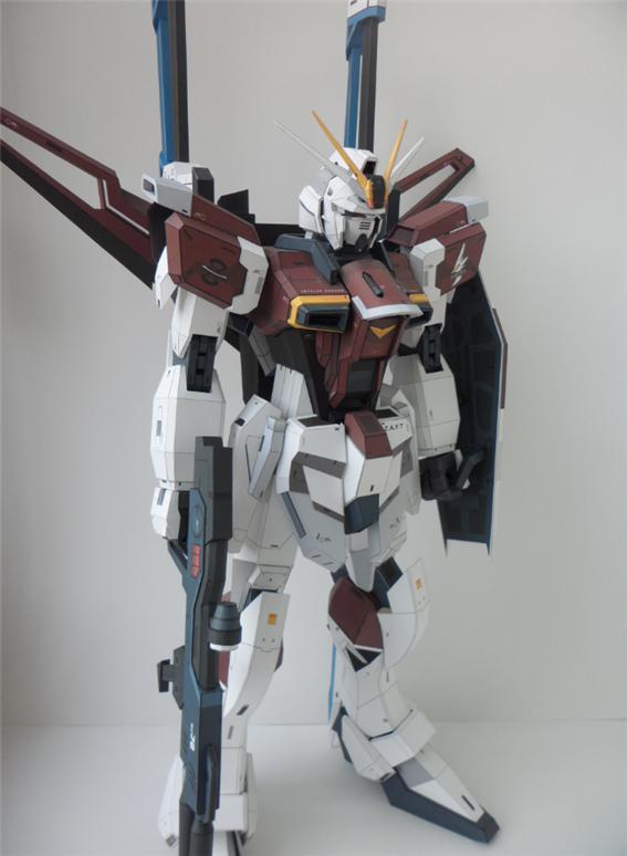 Papercraft 80cm Zgmf X56s Sword Impulse Gundam Ver Paper Replika Work By Daeocean1221