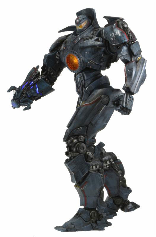 Pacific Rim Lightup Plasma Cannon Battle Damaged Gipsy Danger 1 [Neca]: Official Images, Info