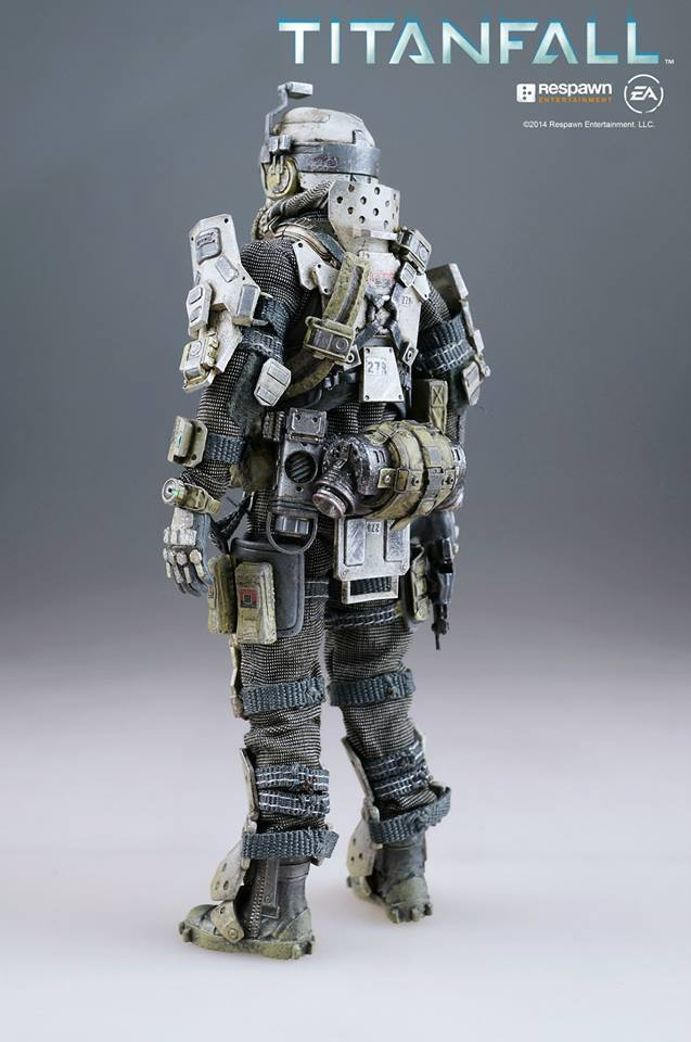 Titanfall  Atlas  First Threezero Official Review Of The Pilot  No 9 Big Size Images  Full Info