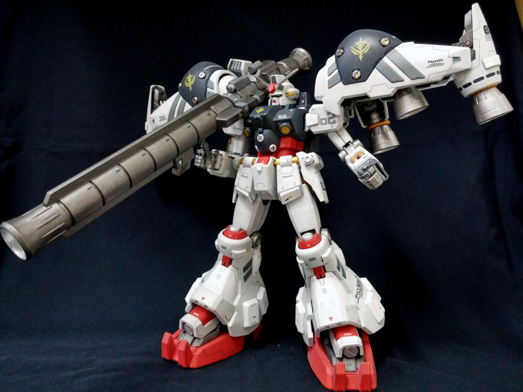 "rx-78gp02a gundam ""physalis"" - federazione terrestre e delaz fleet"