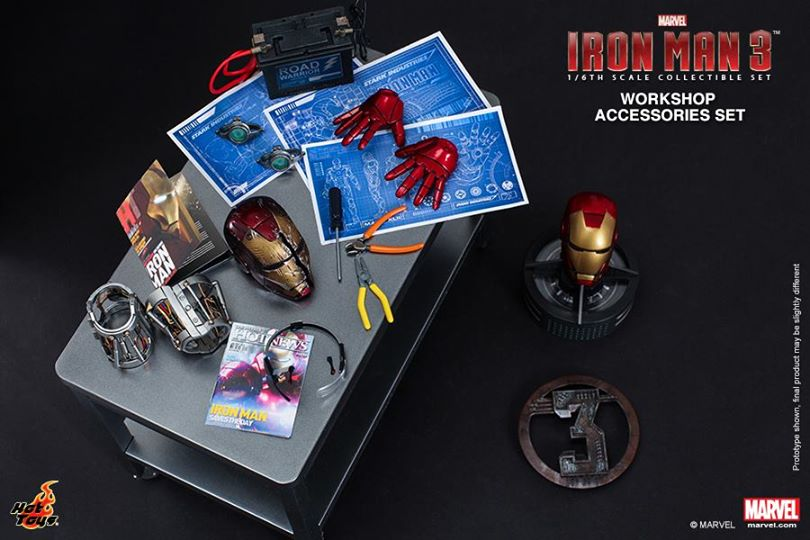 [PREVIEW] Iron Man 3 1/6 Workshop Accessories Set: Official Photoreview by Hot Toys. No.14 Big Size Images