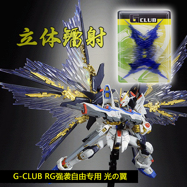 rg strike freedom wings of light review