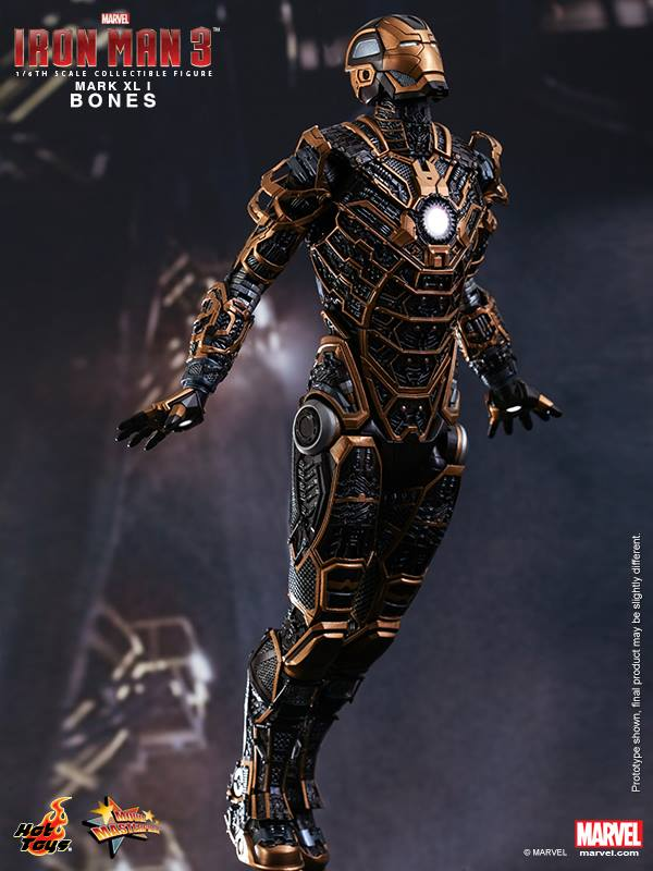 Preview 1 6 iron man mark xli bones official photoreview by hot toys big size images - Iron man 1 images ...