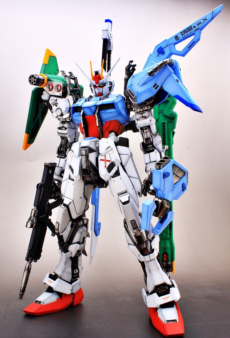 Perfect Grade For A Perfect Build Strike Gundam By Livese1 Full Photoreview No 52 Wallpaper