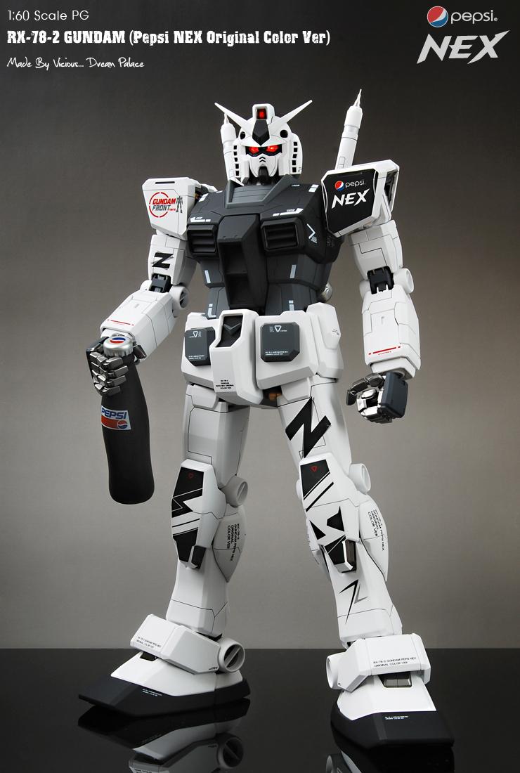 Pg 1 60 Rx 78 2 Gundam Pepsi Nex Original Color Ver