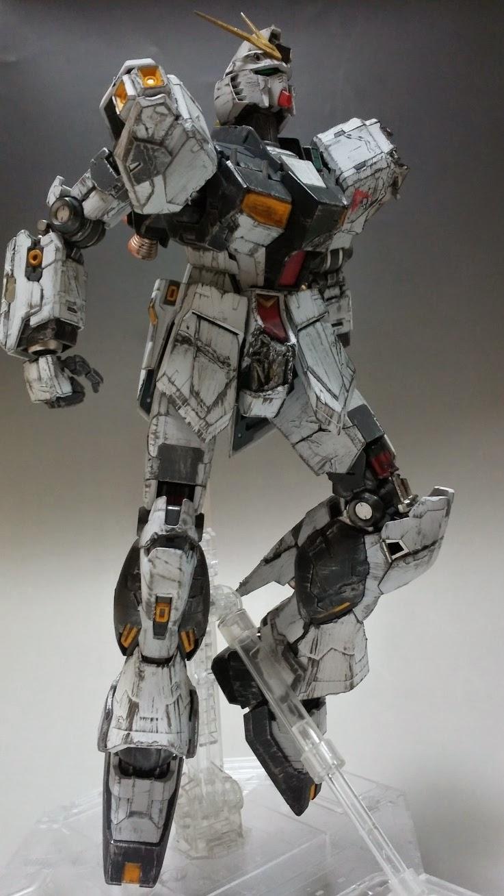 [GBWC 2014 entry] MG Nu Gundam Ver.Ka vs Sazabi Ver.Ka ...