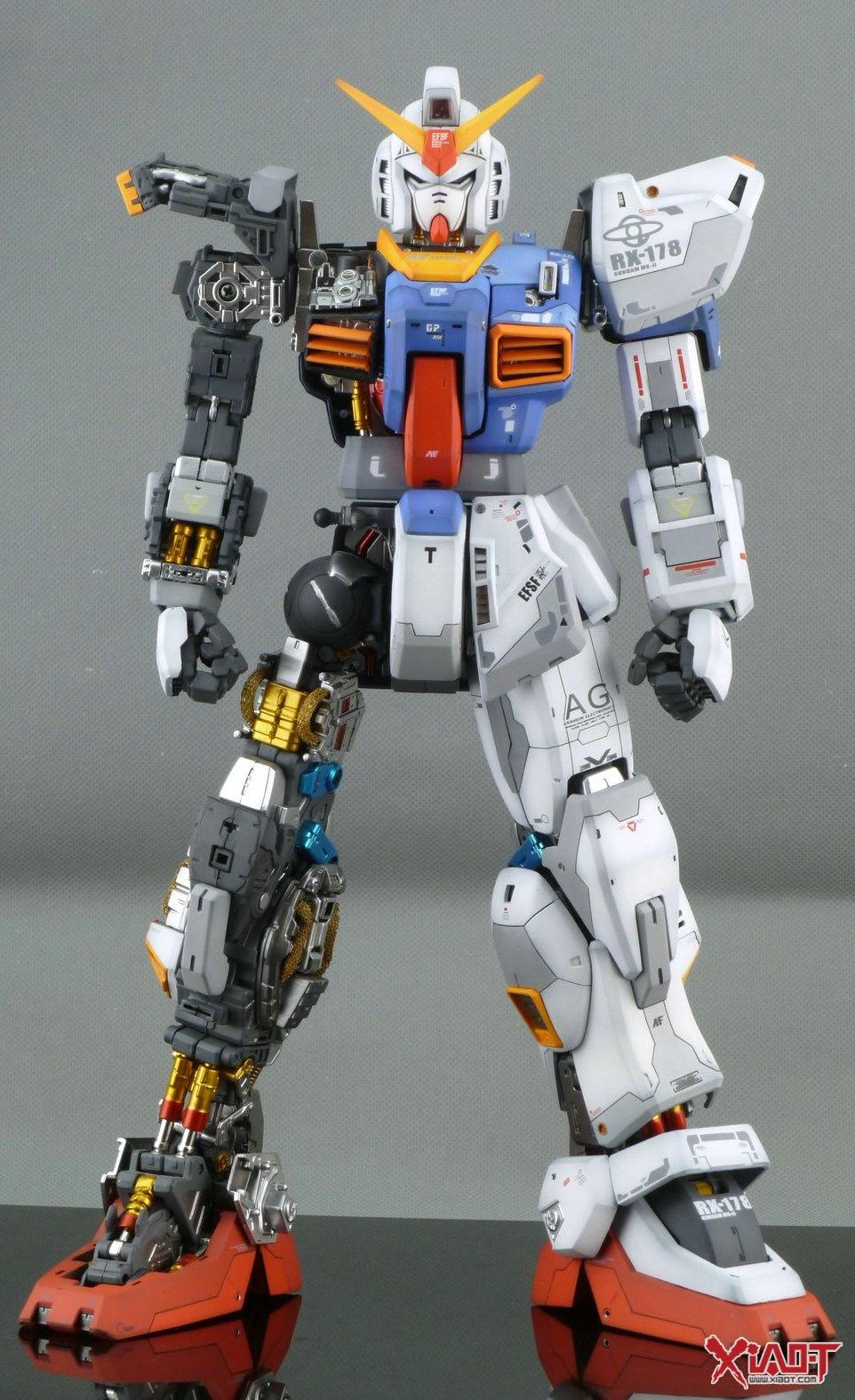 1 60 Perfect Grade Gundam Mk Ii Aeug Improved Work By