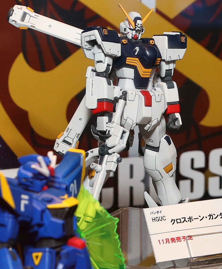 [CHARA HOBBY 2014] HGUC 1/144 Crossbone Gundam X1: Photoreport Wallpaper Size Images, Info