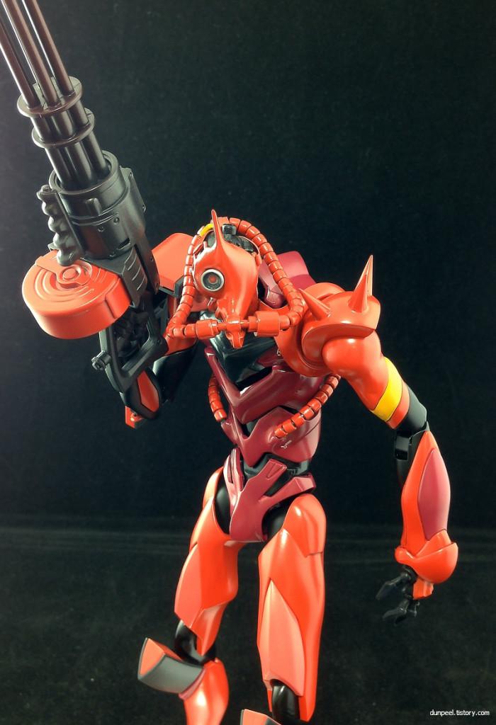When Evangelion Meets Gundam  Project  Inspiration Zeon U2019s Red Comet  Work By Dunpeel  Full