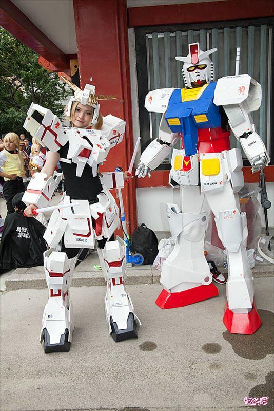 Report Nagoya Osu Cosplay Parade Gundam Other Various