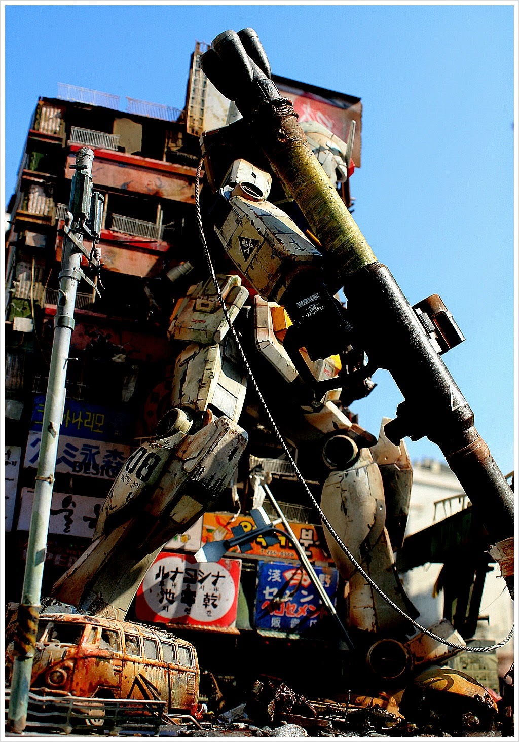 """[G-Work of the Day] 1/48 RX-78-2 Gundam """"The Last Survival ..."""