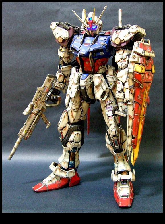 Pg Aile Strike Gundam Skygrasper Ver Damage Work By 일반부