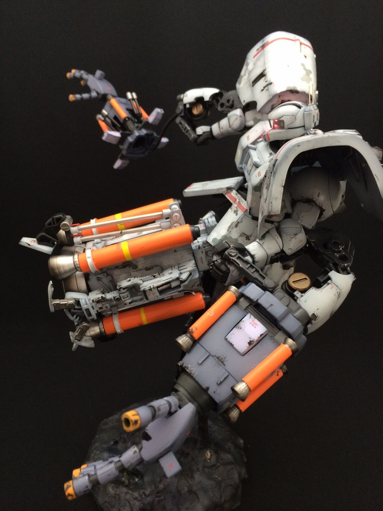 1/100 High Mobility Psycommu System Zaku: Custom Work by 和ゴロウ Photoreview Big Size Images
