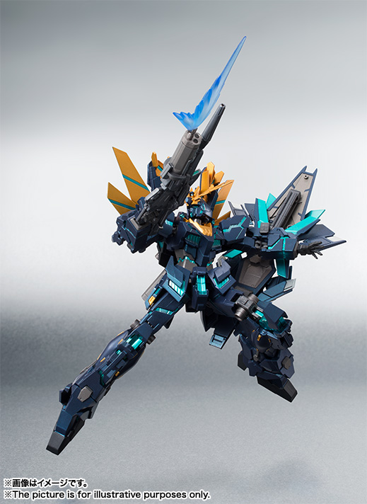 Robot Spirits Banshee Norn Final Battle Ver. on sale @ [Tamashii Nation 2014 (魂ネイション 2014)] Big Size Official Images, Info