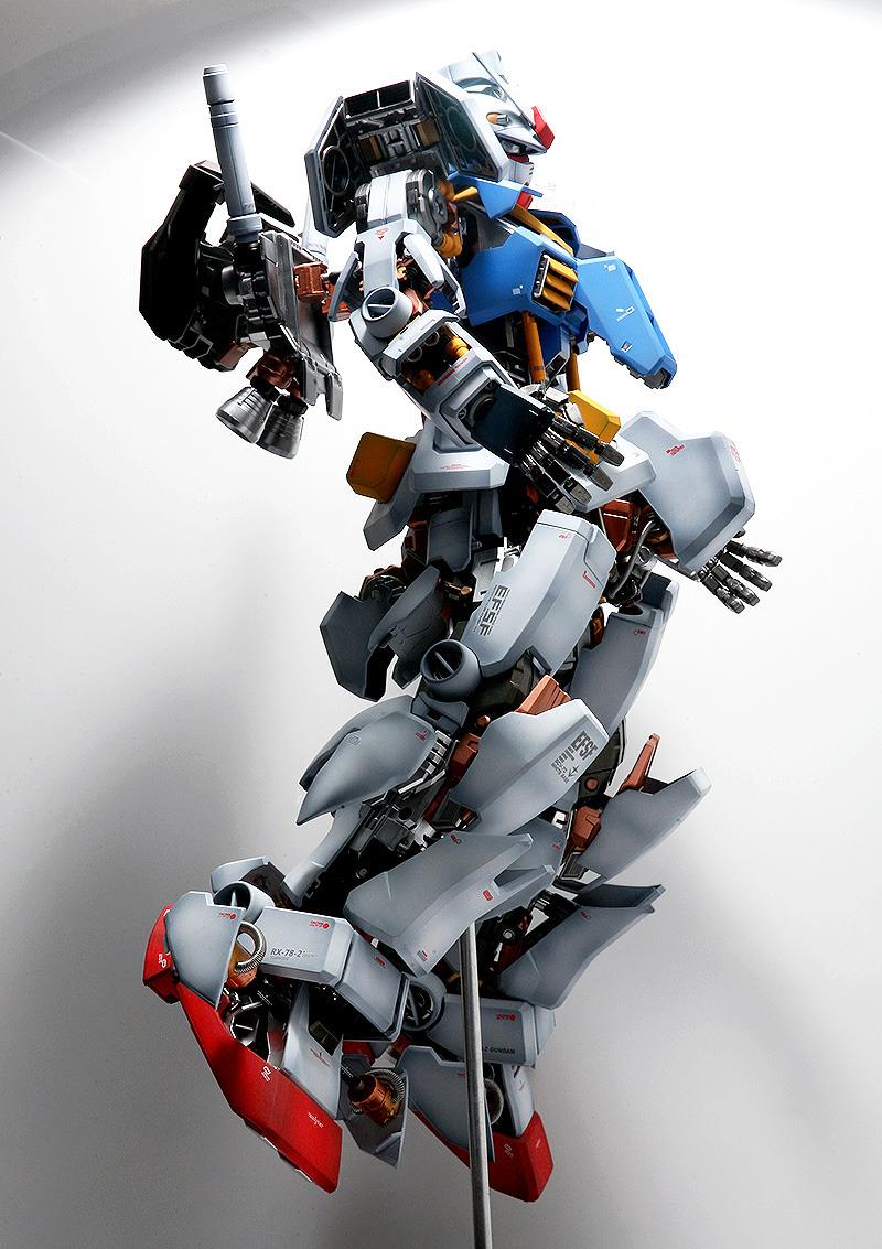How To Improve A Pg 1 60 Rx 78 2 Gundam Ver Full Hatch