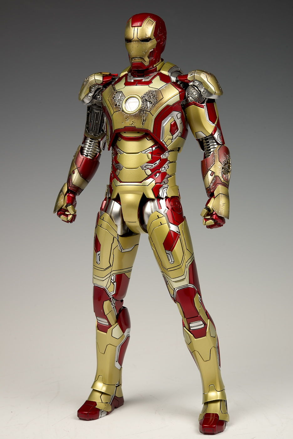 Hot Toys Mms Diecast Series 1 6 Iron Man 3 Mark Xlii