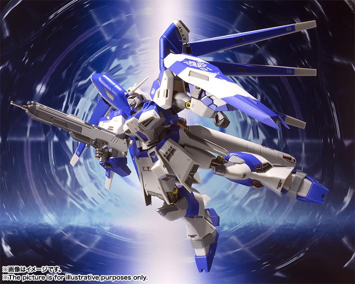 METAL ROBOT魂 Hi-nu Gundam: UPDATE Official Images, Info