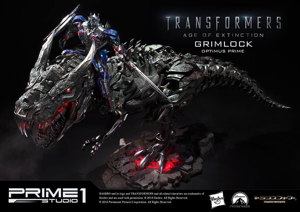 transformers age of extinction grimlock optimus prime