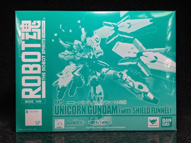 P-Bandai Robot Spirits Unicorn Gundam (with SHIELD FUNNEL): 2nd NEW Photoreview No.34 Big Size Images, Info