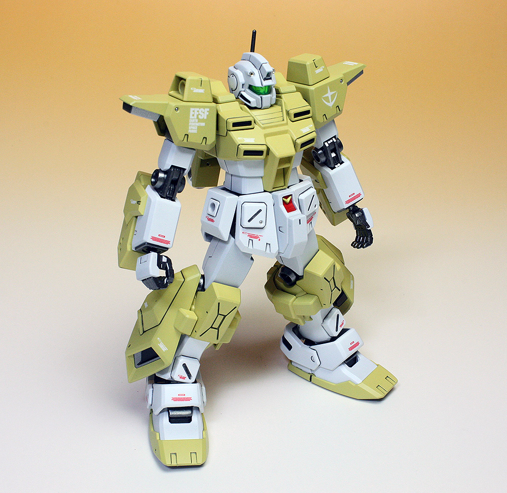 Hgbf 1 144 Rgm 237c Powered Gm Cardigan Latest 2nd Painted Build By