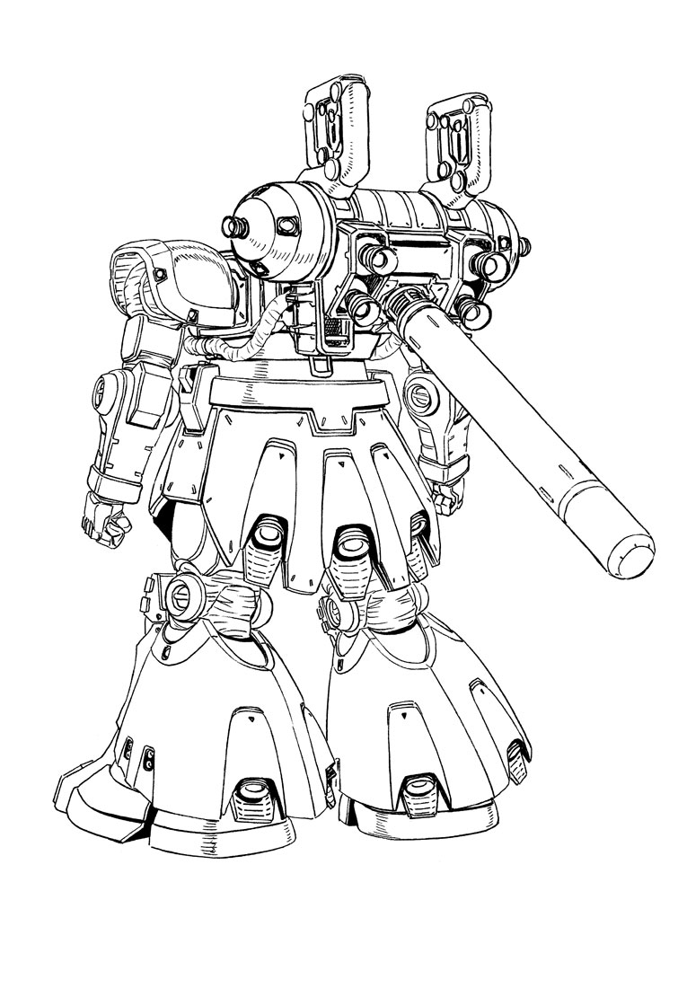The Guide To Mobile Suit Gundam Thunderbolt Fa Zaku Series 2007 Chrysler Sebring Engine Diagram 024 025 026