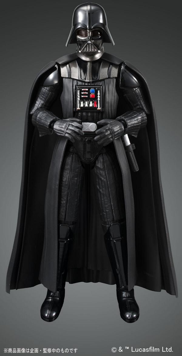 Bandai X Star Wars 1 12 Darth Vader Plamo Big Size