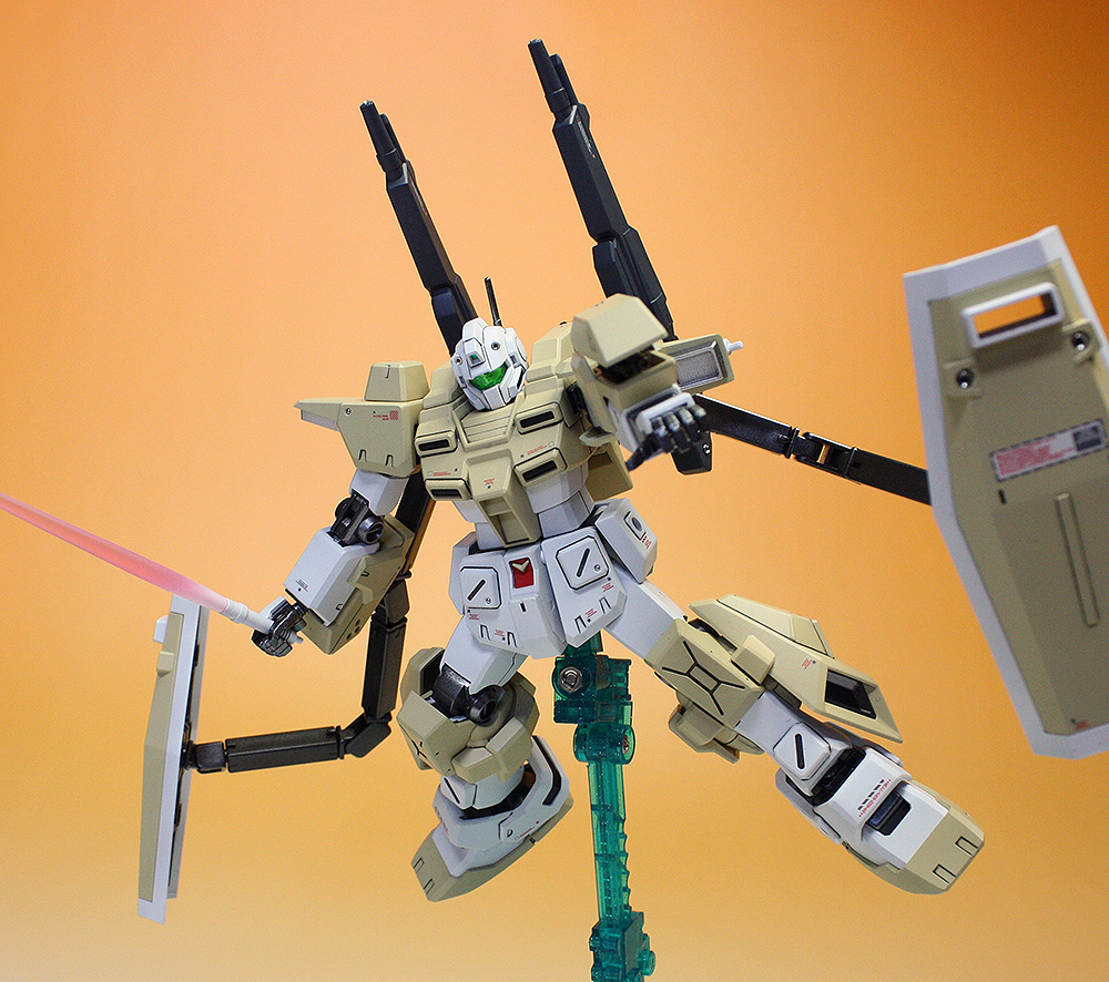 Hgbf 1 144 Powered Gm Cardigan Painted Build Photoreview No 19 Hi