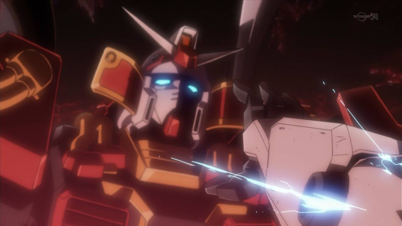 Gundam build fighters try episode one the boy who calls for Domon gundam build fighters