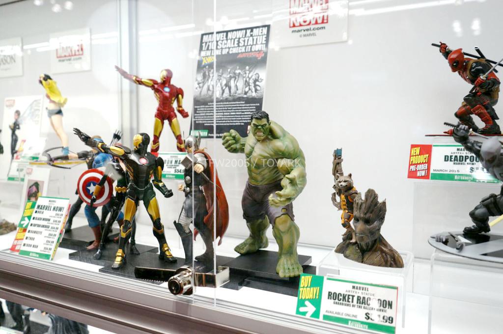 NYCC-2014-Kotobukiya-Marvel-001
