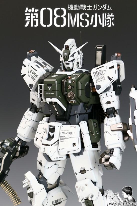 Amazing 1 60 Rx 79 G Gundam Ground Type Conversion Kit Latest Work By Seoyahooya Full