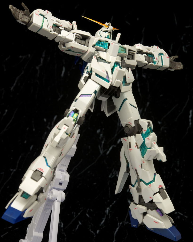 GFF Metal Composite #1012 RX-0 Unicorn Gundam [Awakening Ver.] Full Detailed Photoreview No.53 Hi Res Images, Info