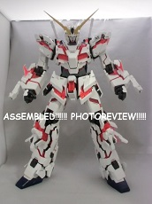 SCOOP! PG Unicorn Gundam ASSEMBLED! Photoreview Click on the Image!