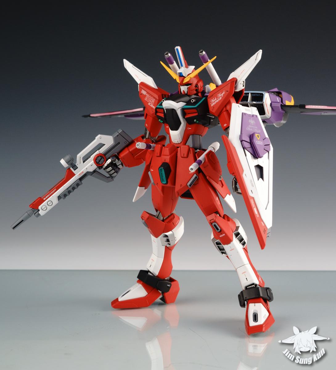 Mg 1 100 Zgmf X19a Infinite Justice Gundam Beautiful Work