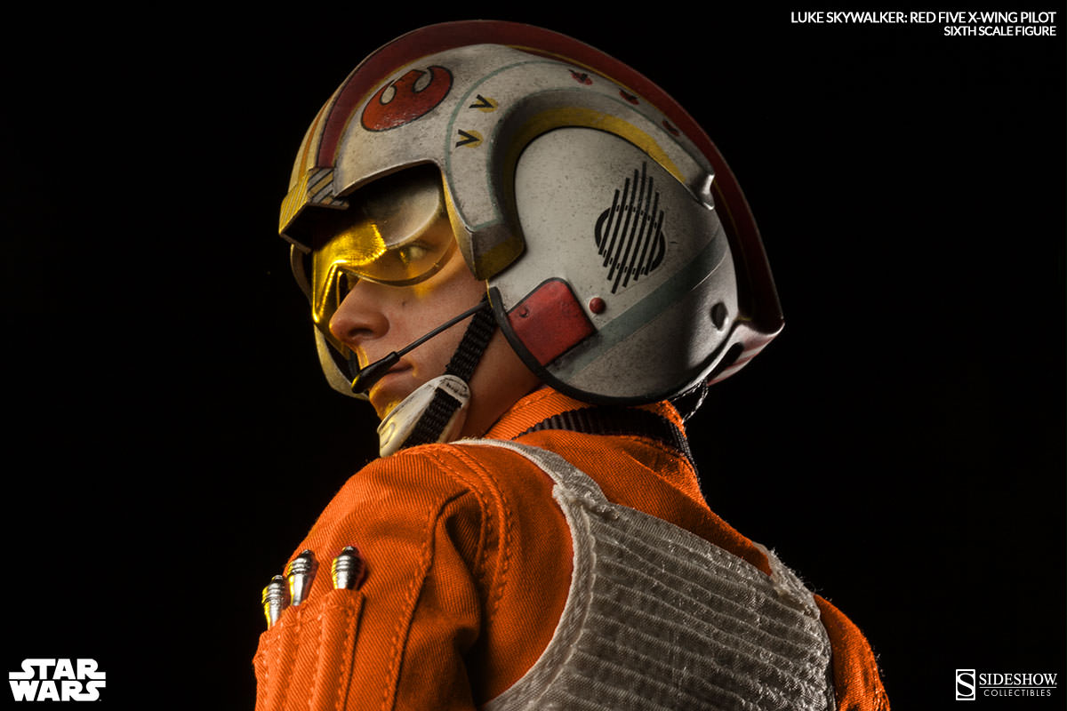 Sideshow Collectibles is proud to present the Luke Skywalker: Red Five X-wing Pilot Sixth Scale Figure from Star Wars Episode IV: A New Hope. Official Photoreport, FULL Info