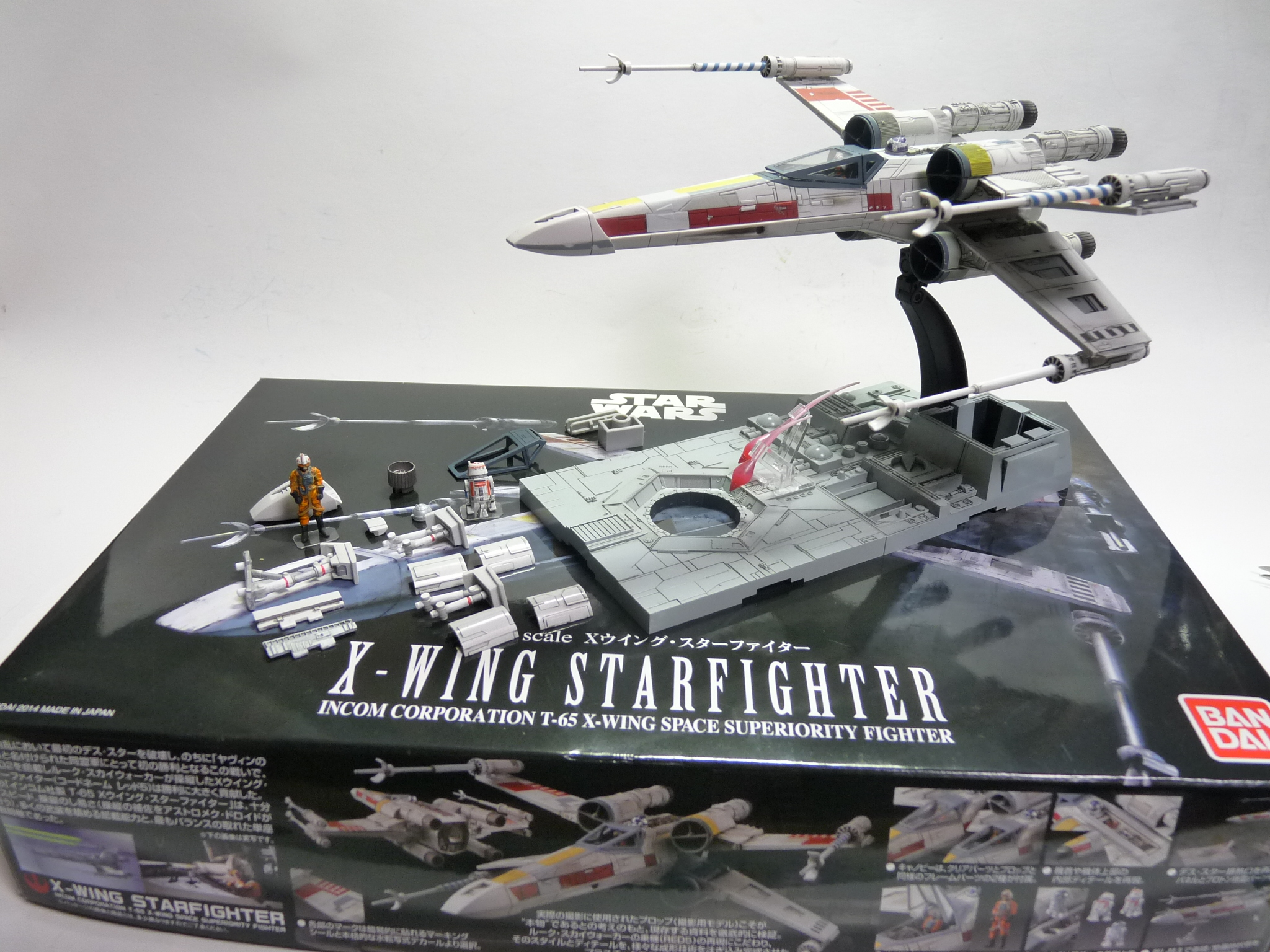 Bandai x Star Wars 1/72 X,Wing Starfighter PAINTED BUILD