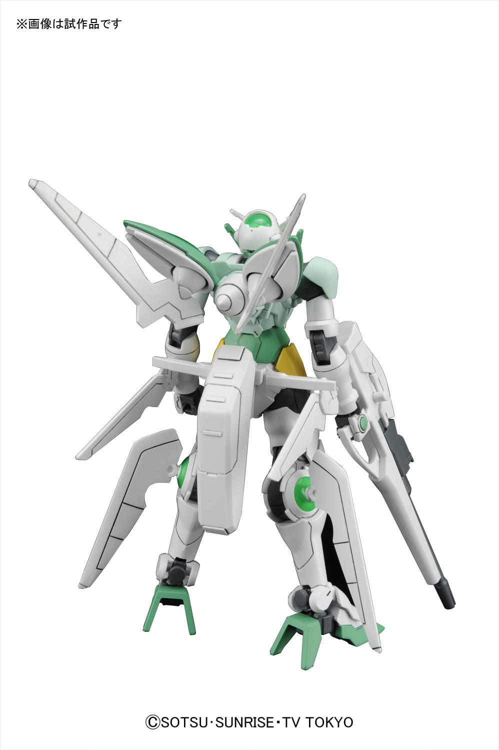 Gbft hi res official images of hgbf 1 144 gundam portent for Portent flyer