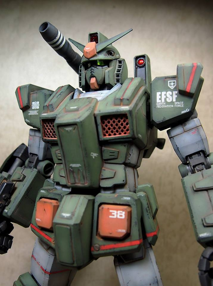 Great Work by Star Citizen! PG 1/60 FA-78-1 Full Armor ...