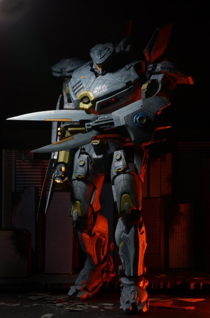 """[Pacific Rim] 18"""" STRIKER EUREKA action figure w/LEDs [NECA] Official Hi Res Images"""