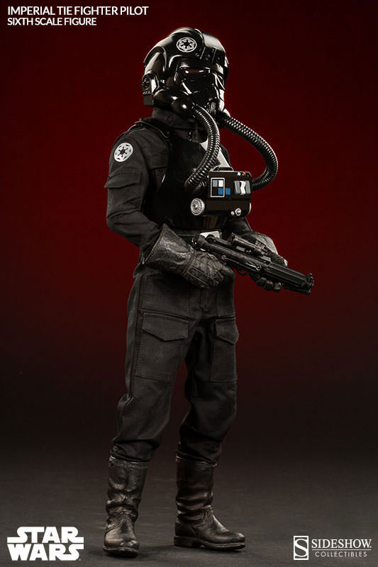 Sideshow x Star Wars: 1/6 Imperial TIE Fighter Pilot. Official Photoreview No.13 Images, Info Release