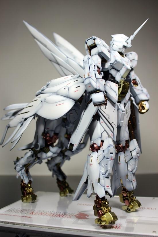 Mg unicorn gundam ver beast mode pegasus project banshee for Portent flyer
